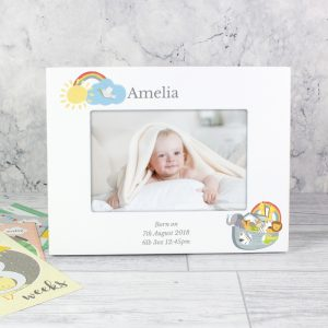 Personalised Noahs Ark Photo Frame