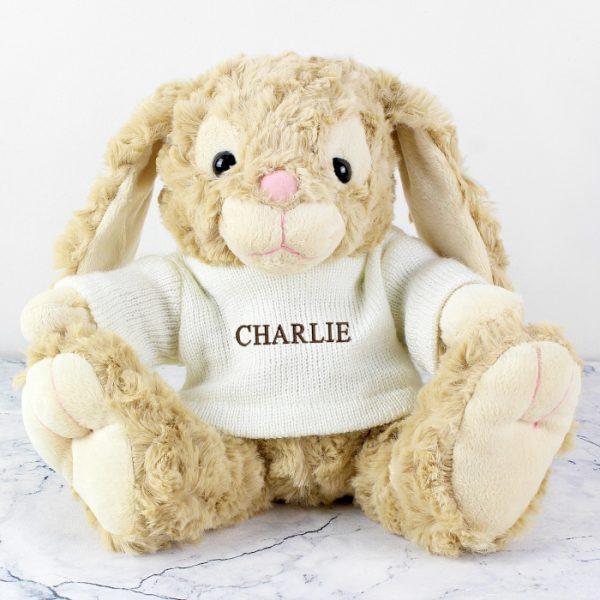 Personalised Plush Rabbit