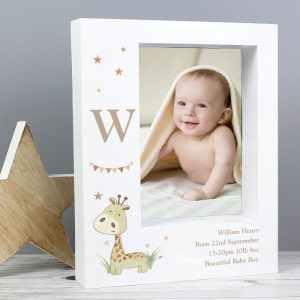 Personalised New Baby Photo Frame