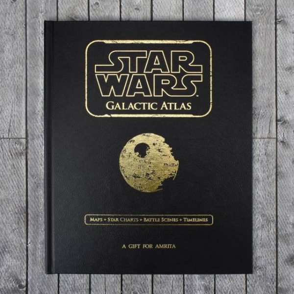 Personalised Star Was Atlas Book