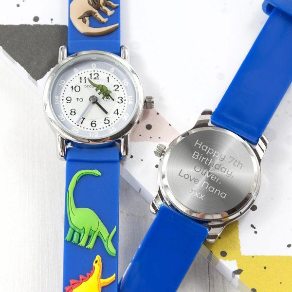 Personalised Dinosaur Watch