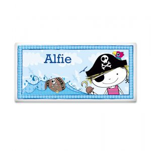 Boys Door Plaque - Pirate