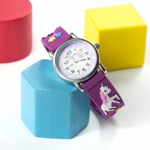 Childrens Personalised Unicorn Watch