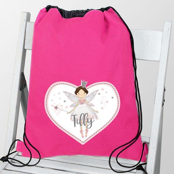 Personalised Fairy Princess Kit Bag