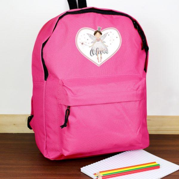 Personalised Fairy School Bag