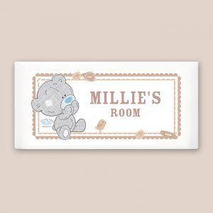Personalised Nursery Door Plaque