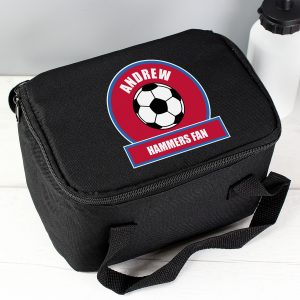 Claret & Blue Football Lunch Bag