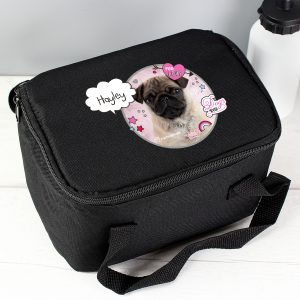Personalised Pug Lunch Bag