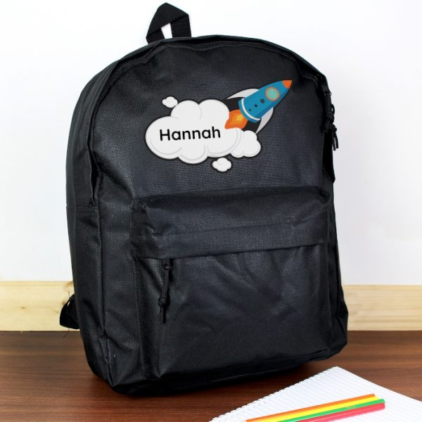 Personalised Space Rocket Backpack