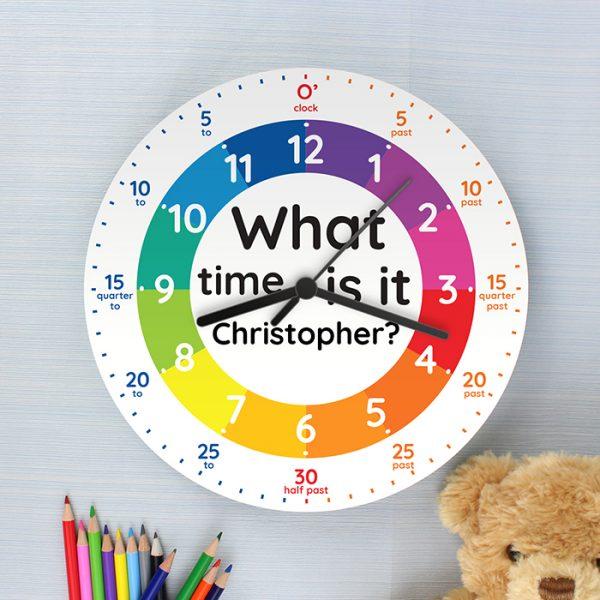 Personalised Time Teacher Clock