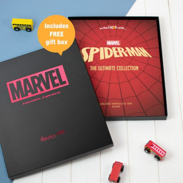 Spiderman Personalised Book