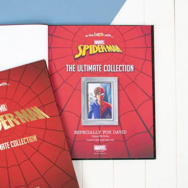 Spiderman Book With Photo