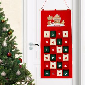 Personalised Advent Calendar - Gingerbread House