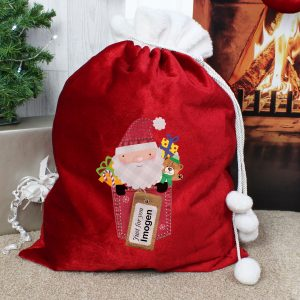 Personalised Christmas Sack - Santa Claus