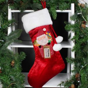 Personalised Christmas Stocking - Santa Claus