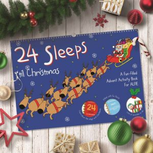 24 Sleeps Advent Activity Book