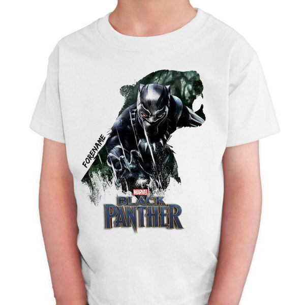 Marvel Black Panther Personalised T-Shirt