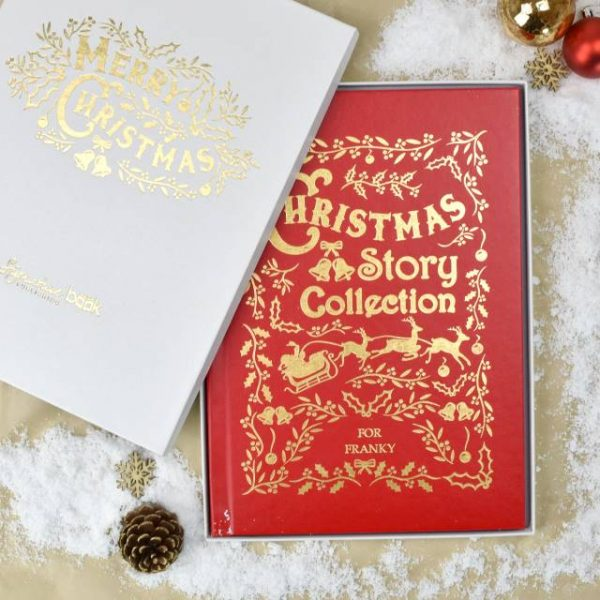 Personalised Christmas Story Collection Book