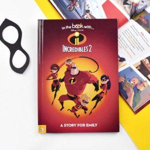 Incredibles 2 Personalised Book