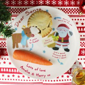 Personalised Mince Pie Plate - Felt Stitch