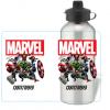 Personalised Marvel Avengers Water Bottle