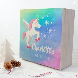 Baby Unicorn Christmas Eve Box - Large