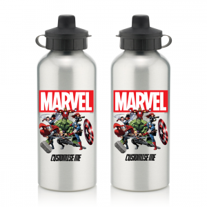 Marvel Aluminium Water Bottle