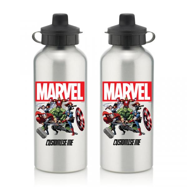 Marvel Aluminium Water Bottle