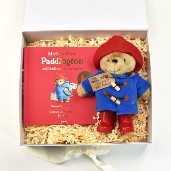 Personalised Paddington Bear Book & Plush Toy