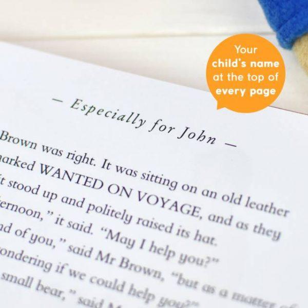 Paddington Personalised Book