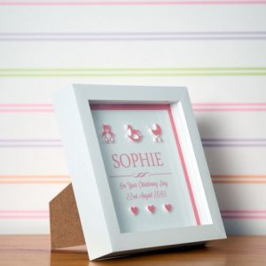 New Baby Girl Framed Print