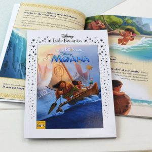 Disney Moana Personalised Book