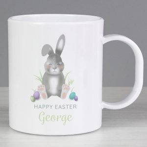 Easter Bunny Personalised Plastic Mug
