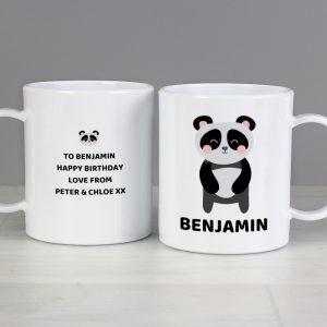 Personalised Panda Childrens Mug