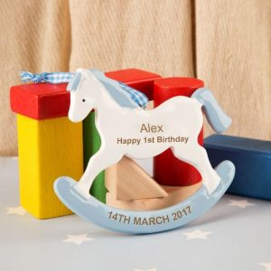 1st Birthday Keepsake Gift Blue