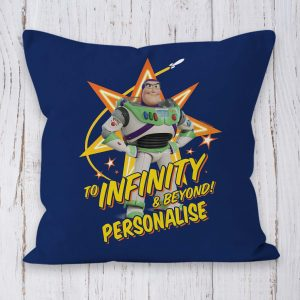 Toy Story 4 Buzz Lightyear Personalised Cushion