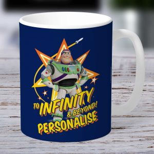 Toy Story 4 Buzz Lightyear Personalised Mug