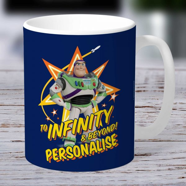 Toy Story 4 Buzz Lightyear Personalised Mug