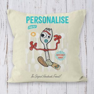 Toy Story 4 Forky Personalised Cushion