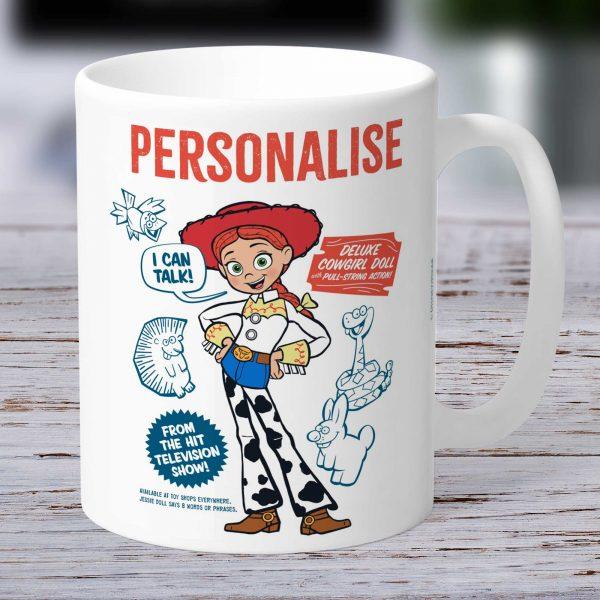 Toy Story 4 Jessie Personalised Mug - Vintage Style