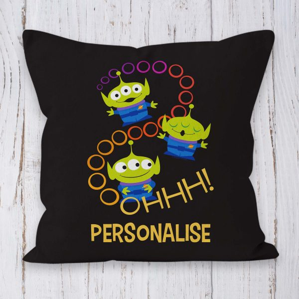 Toy Story 4 Personalised Cushion - Aliens