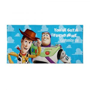 Toy Story Personalised Beach Towel