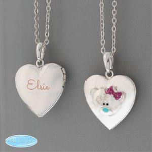 Personalised Children's Heart Locket