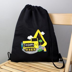 Personalised Digger Kit Bag