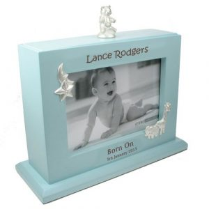 Baby Boy Personalised Engraved Photo album