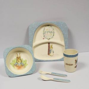 Peter Rabbit Breakfast Set