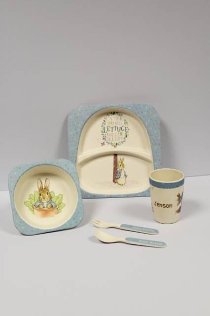 Peter Rabbit Breakfast Set