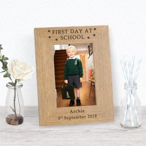 First Day School Photo Frame