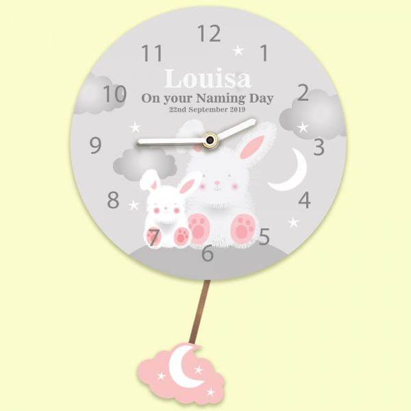 Personalised Children's Wall Clock