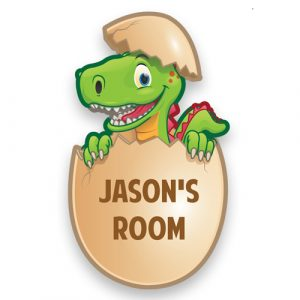 Dinosaur Door Plaque